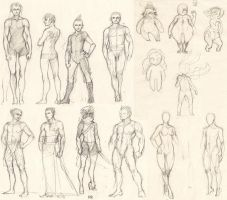 04-07-2011 character sketches by tigr3ss