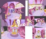Rarity's Carousel Boutique 3D model - main room by wazwer