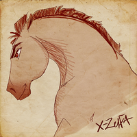 Spirit_sketch by X-Zelfa
