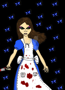 Alice: Paint.NET practice. by Lilpuppy8888