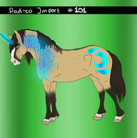 Padro Import #101 - EXTREMELY Rare by Horse-Emotion