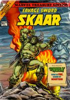 The Savage Sword Of SKAAR, Son Of Hulk! by Simon-Williams-Art