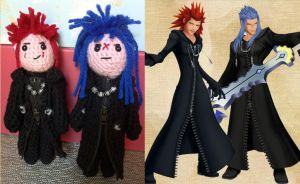 Kingdom Hearts Amigurumi by smapte