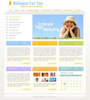 Web Template for Client 2 by djnick2k