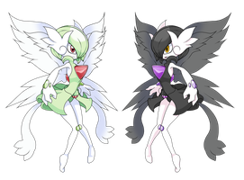 Mega Gardevoir my Version 2 by Deco-kun