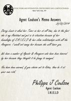 Coulson Memos 19 by TheQueenofLight