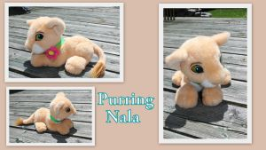 Purring Nala by Laurel-Lion