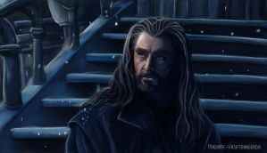Desolation of Smaug: Thorin Oakenshield by Falln4DarkAngel