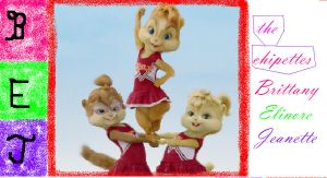 The Chipettes by blackrose96becky