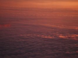 Sunset on the Clouds by dananaboo