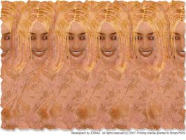 Erotic Stereogram Poster by 3Dimka