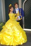Beauty and the Beast smile by cloudedante