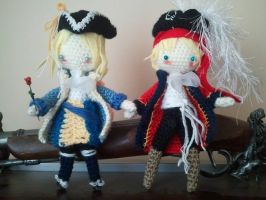 Yarr harr, cuteness ahoy!! [APH Dolls] by Pianodream