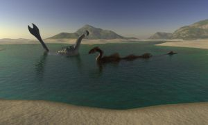 Loch Ness Monster by Souluos