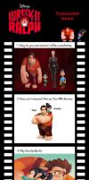 Screenshot meme with Wreck it Ralph by Cookie-Lovey