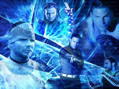wall Jeff Hardy by elyJHardy