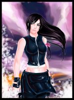 Tifa Art trade by dreamwatcher7
