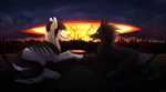 Last Night on Earth by ToxicWArt
