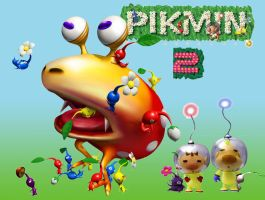 Pikmin Wallpaper by LiloandStitchFan