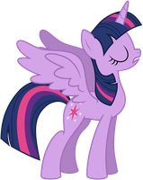 Vector Princess Alicorn Twilight Sparkle by KyssS90