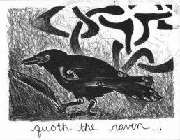 quoth the raven . . . by feynico