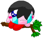 emo kirby by Doggy-woogy