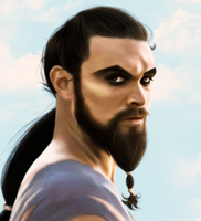 Khal Drogo by MarinaSchiffer