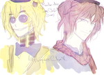 Doodles 4 : Golden Freddy And Freddy by Ailurophile-Chan