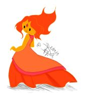 Flame Princess by bakkaaaa