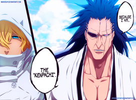I'm The Kempachi - Bleach 573 [Collab] by MarxeDP