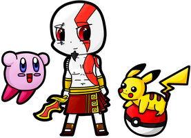 Video Game Cross-Over 3 by NassuArt