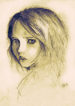 Grudge drawing by GloriaFelix