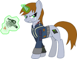Littlepip trace by cheeseater109