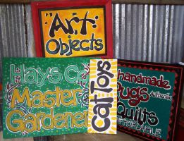 Painted Signs by rudat