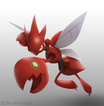 Scizor by Epifex