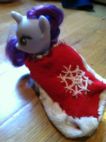 Winter snowflake mlp cape by maybecatie
