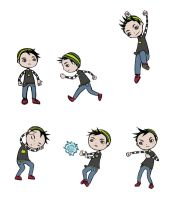 Kid Concept Sketches by SuperTako