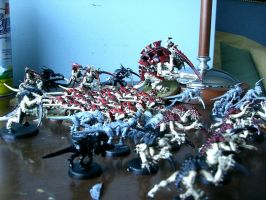 Hive Fleet Kraken by robgo924