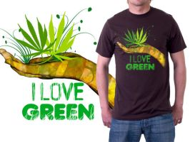 I love green by archys187