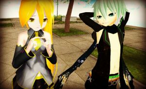 MMD Just Say it by xinshin