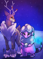Winter Pokemon by Neotheta