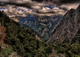 Samaria Gorge by BillyNikoll