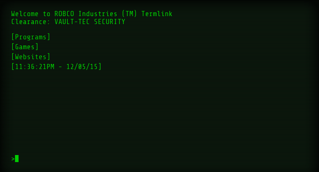 Fallout Terminal 1.1.2 by mrcoaster