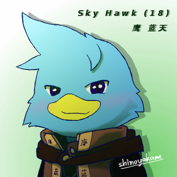 Sky Hawk Profile Pic #1 by shinoyakame