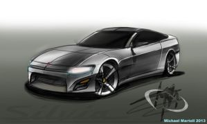 Nissan s16 Rendering Concept V.1 by MichaelMartell