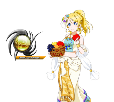 Love live - Eli cute arabian clothes render by sharknex