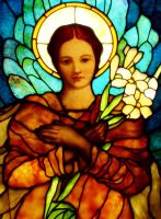 Stained Glass Angel by rc360