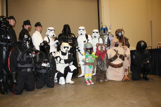 Baby Fett and 501st Division by jlonnett
