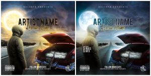 The Road PSD CD Cover Template (FREE DOWNLOAD) by RUSSGFX