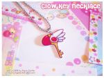 Clow Key Necklace by MoogleGurl